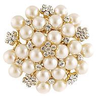 Γυναικεία Μοντέρνα Καρφίτσα Κοσμήματα Λευκό Για Καθημερινά