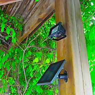 abordables Luces LED Solares-30-led de potencia jardín inundación punto de luz del césped de la lámpara blanca fría ultra brillante solar