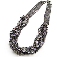 Jewelry Choker Necklaces Party / Daily Alloy / Rhinestone Women Black Wedding Gifts