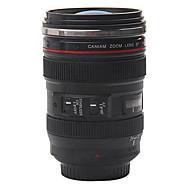 お買い得  世帯の大昇進-1個のクリエイティブカメラのレンズのコーヒーマグカップカバー付きのカップ