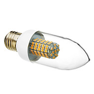 cheap -520-550 lm E26/E27 LED Candle Lights 102 leds SMD 3528 Warm White AC 220-240V