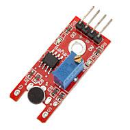 お買い得  Arduino 用アクセサリー-ためのマイク音声音センサモジュール(arduinoのために)