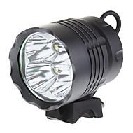 preiswerte Taschenlampen, Laternen & Lichter-Stirnlampen Radlichter LED Cree XM-L T6 4 Sender 3200 lm 3 Beleuchtungsmodus Schlag-Fassung Camping / Wandern / Erkundungen, Radsport, Angeln