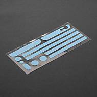 abordables Protectores de Pantalla para iPhone-Protector de la película luminosa Edge Set para el iPhone 5/5S (colores surtidos)