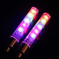 Lumini de Bicicletă lumini roți lumini intermitente capac robinet LED Ciclism Lumină LED Lumeni Baterie Ciclism-MOON