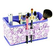 abordables Gadgets Casa y Despacho-plegado cosméticos quadrate modelo de flor pincel de maquillaje caja de soporte organizador de almacenamiento de bote (3 colores elegir