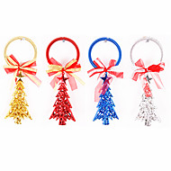 1PCS 20cm árbol de Navidad y estrellas ornamento de navidad Christmas Decoration (colores surtidos)