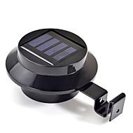 halpa LED-valonheittimet-Uusi 3 LED Solar Powered Gutter ovi aita Wall Light ulkotarha Valaistus (CIS-57208)
