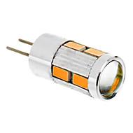 abordables Daiwl-1.5W 2500lm G4 Bombillas LED de Mazorca T 10 Cuentas LED SMD 5730 Blanco Cálido 12V