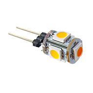 G4 LED-maissilamput T 5 ledit SMD 5050 Lämmin valkoinen 70lm 3000K DC 12V