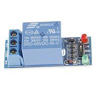 お買い得  Arduino 用アクセサリー-道路リレーモジュール5Vハイレベルトリガリレー拡張ボード