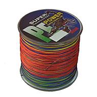 500M / 550 Yards PE Gevlochten Lijn / Dyneema Vislijn Diverse Kleuren 80LB / 70LB / 100lb 0.4;0.45;0.5 mm VoorZeevissen / Zoetwater
