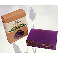 billige Sundhed og personlig pleje-Tianxuan Lavender Essential Oil Soap Moisturizing Anti-Acne 100g