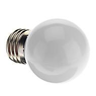 お買い得  LED ボール型電球-0.5W E26/E27 LEDボール型電球 G45 7 DIP LED 50 lm ナチュラルホワイト K 装飾用 交流220から240 V