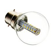 olcso LED gömbbúrás izzók-B22 LED gömbbúrás izzók G45 25 led SMD 3014 Dekoratív Meleg fehér Hideg fehér 180-210lm 6000-6500K AC 220-240V