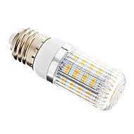 4W E14 GU10 E26/E27 LED-lampa T 36 lysdioder SMD 5730 Bimbar Varmvit 300lm 2700-3500K AC 220-240V