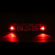 お買い得  -後部バイク光 / 安全ライト / テールランプ LED 自転車用ライト サイクリング 防水, LEDライト 単四電池 バッテリー サイクリング - MOON / IPX-4