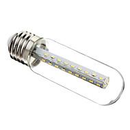 Χαμηλού Κόστους Λαμπτήρες LED τύπου Corn-280-320lm E26 / E27 LED Λάμπες Καλαμπόκι T 37 LED χάντρες SMD 3014 Διακοσμητικό Θερμό Λευκό Ψυχρό Λευκό 220-240V