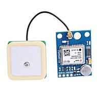 お買い得  Arduino 用アクセサリー-アンテナとのGY-GPS6MV1 GPS APM2.5モジュール - ディープブルー(3〜5V)