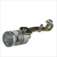 Car Turbo silbido del turbocompresor - Plata (talla L)
