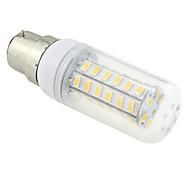 お買い得  LED コーン型電球-6W 3000-3500 lm B22 LEDコーン型電球 T 48 LEDの SMD 5730 温白色 AC 220-240V