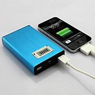 abordables Baterías Externas-cargador universal de 20000mAh banco BatteryPower alta capacidad externa para el iphone 6/6 más / 5 / 5s / samsung s4 / s5 / Nota 2