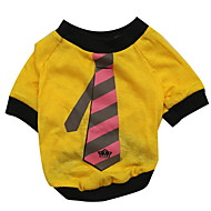 Dog Shirt / T-Shirt Dog Clothes Black Purple Yellow Brown Red Costume For Pets