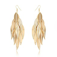 Women's Drop Earrings Tassel Fashion Alloy Jewelry For Wedding Party Daily Casual