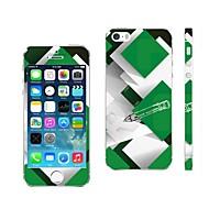 Недорогие Защитные пленки для iPhone-AIKUSU ® Смешанные цвета Дизайн мобильного телефона кожного покрова для iPhone 5/5S KSCT0013
