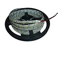 5m impermeável 72W 300 * 5050 SMD 4800lm luz branca levou lâmpada tira (DC12V)