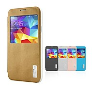 Για Samsung Galaxy Θήκη με παράθυρο / Αυτόματη αδράνεια/αφύπνιση / Ανοιγόμενη / Με σχέδια tok Πλήρης κάλυψη tok Γεωμετρικά σχήματα