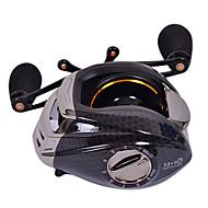 baratos Acessórios de Pesca-Molinetes de Pesca Molinete de Isca 6.3:1 Relação de Engrenagem+13 Rolamentos Destro Pesca de Mar - TS1200