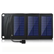 usb salida 5v portátil& plegable cargador de panel solar para iPhone6 / 6plus / 5s samsung s4 / 5 HTC y otros dispositivos móviles
