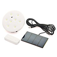 1 Set Remote control Solar Flood Lamp with 8LED Lighting System