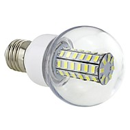 e26 / e27 geleid maallampen g60 56 smd 5730 700lm koud wit 6500k ac 220-240v
