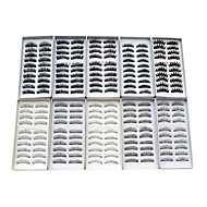cheap Makeup & Nail Care-Eyelash Extensions False Eyelashes 200 pcs Volumized / Natural / Thick Eyelash Classic Extra Long Daily Makeup Cosmetic