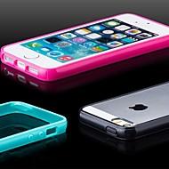 TPU matowe zderzaka tylna skrzynka dla iphone 5 / 5s (różne kolory)