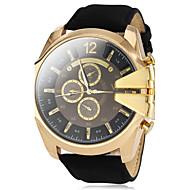 Недорогие Фирменные часы-V6 Муж. Наручные часы Армейские часы Кварцевый Повседневные часы PU Группа Кулоны Черный Коричневый Зеленый Темно-синий