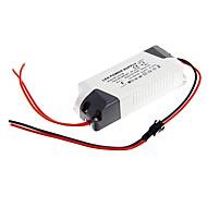 Led paneli lamba için ac 85-265V harici sabit akım güç kaynağı sürücüsü 0.3a 13-18w DC 35-70v
