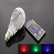 お買い得  LED スポットライト-1個 10 W 800 lm E26 / E27 LEDスマート電球 1 LEDビーズ ハイパワーLED リモコン操作 / 装飾用 / カラーグラデーション RGB 85-265 V / RoHs