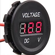 halpa -dc 12v-24v auton digitaalinen johti jännite sähköinen volttimittaria näytön kalibrointilaite