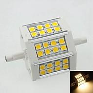 お買い得  LED コーン型電球-SENCART R7S LEDビーズ 温白色 100-240V