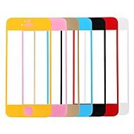 kapcsolat álom színes prémium edzett üveg kijelző védő tartóval iPhone 5 / 5s