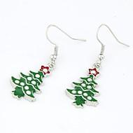 jul-serien - julgrans örhängen