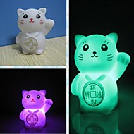 Coway Creative Romantic Gift Maneki Neko Colorful LED Nightlight