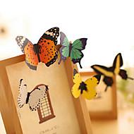 billige -sommerfugl fargerik scrapbooking dekorere vegg klistremerker (1 stk)