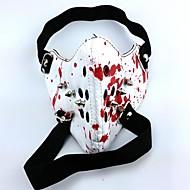halpa Cosplay-Mask Innoittamana Tokio Ghoul Cosplay Anime Cosplay-Tarvikkeet Mask Valkoinen PU-nahka Uros