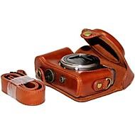 pajiatu® pu cámara piel aceite de cuero funda protectora cubierta de la bolsa para Sony DSC-hx50v hx60 HX50 HX30 HX10 LCJ-hn