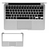 zilver full body palm guard afscherming film voor Apple MacBook Pro 13.3 '' of pro 15.4 ''