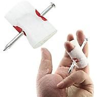 ひどいトリッキーな負傷した手の爪のごちそうの指の家の装飾
